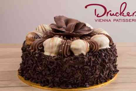Druckers Vienna Patisserie - Choice of Celebration Cake - Save 15%