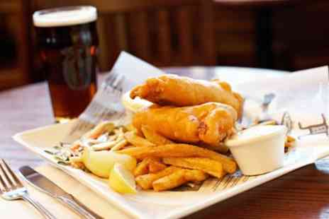 Ye Olde Gate Inn - Two Course Pub Lunch Meal for Two or Four - Save 48%