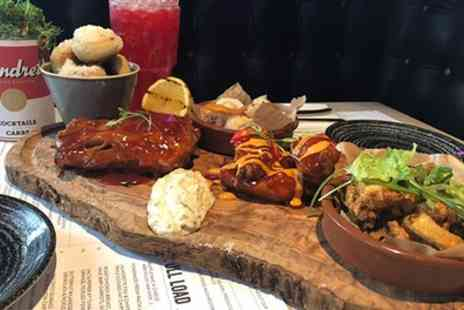 The Laundrette Newcastle - Sharing Board and Drinks to Share for Two or Four - Save 46%