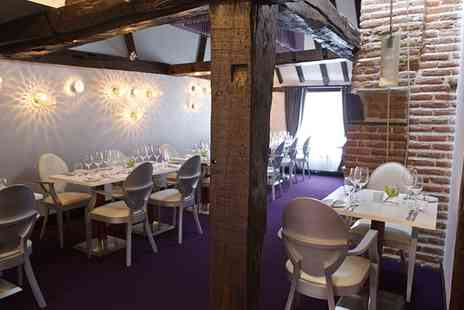 Hengist - Fillet or Rib Eye Steak with Two Sides and Sauce for Two or Four - Save 45%