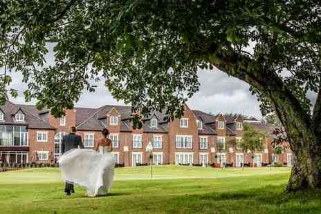 Formby Hall Golf Resort & Spa - Wedding package including three course wedding breakfast, drinks reception, evening food and more - Save 47%