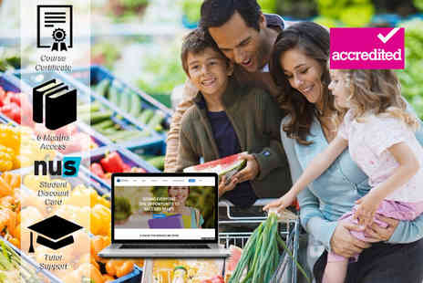Harley Oxford - Accredited family health & nutrition course - Save 92%