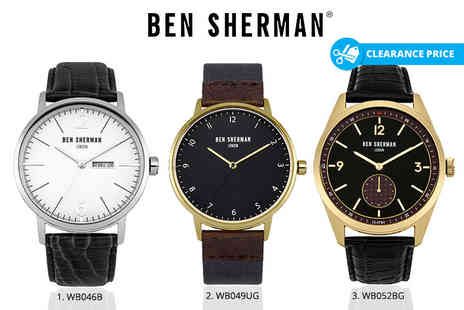 Deals Direct - Ben Sherman London mens watch - Save 24%