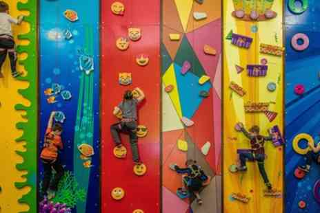 Fun Climb - One Hour Indoor Climbing Session for Up to Four - Save 25%