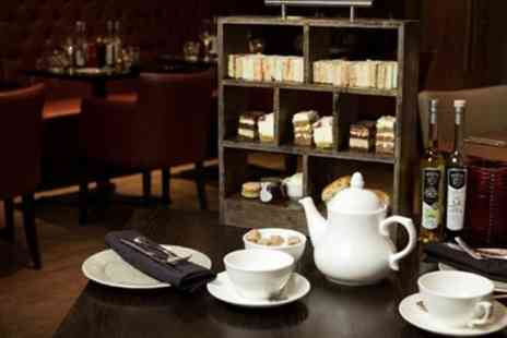 Marcos New York Italian - Afternoon Tea with Glass of Prosecco for Two or Four - Save 45%