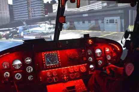 Sim2do - Hour long helicopter flight simulator experience - Save 32%