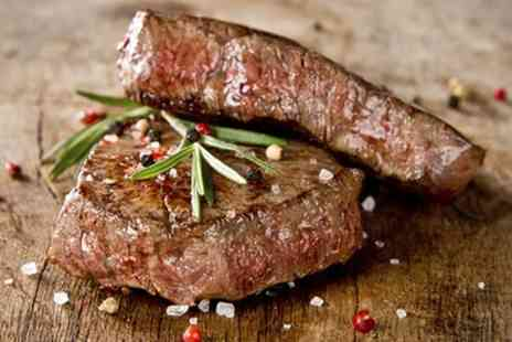 The Rosehip - Choice of Any Main, Sirloin or Rib Eye Steak Meal for Two - Save 55%