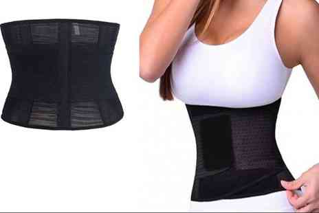 Boni Caro - Fitness waist training belt choose from four colours - Save 80%
