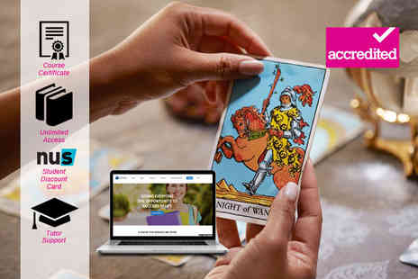 Harley Oxford - Accredited tarot reading course - Save 95%