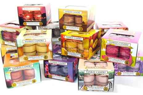 Groupon Goods Global GmbH - 60 Yankee Candle Tealights - Save 51%