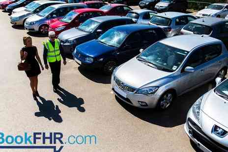BookFHR - Up to 35% Off Airport Parking Services - Save 0%
