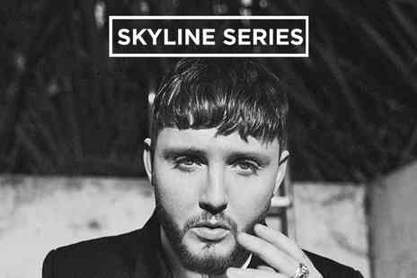 Alchemy Promotions - James Arthur and Special Guests, Standing or VIP Ticket on 24 August - Save 9%