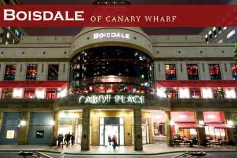 Boisdale of Canary Wharf - Oysters and Sparkling Rose in Caviar Bar, Three Course Meal on Terrace and Live Jazz Event for Two - Save 50%