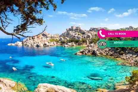 Super Escapes Travel - Four Star Italy full board break with return flights - Save 26%