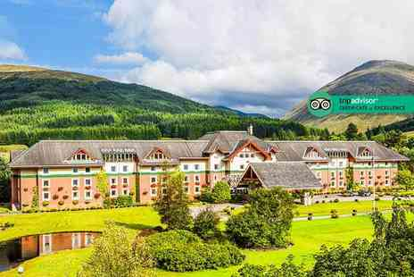 Muthu Ben Doran Hotel - One, two or three night Crianlarich stay for two with breakfast, three course dinner and a bottle of Prosecco on arrival - Save 47%