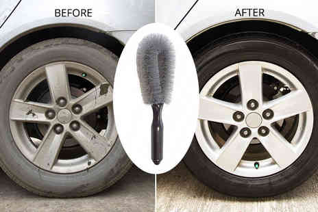 Spot Promotions - £2.99 instead of £9 (from Electronic E-Cig Store) for a wheel-cleaning brush - Save 67%