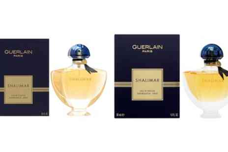 Groupon Goods Global GmbH - Guerlain Shalimar 50ml Eau de Parfum or 90ml Eau de Toilette Spray for Women - Save 0%