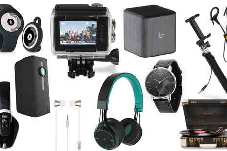 Groupon Goods Global GmbH - Electronics Mystery Deal with a Chance to Receive Apple iPad 3, Samsung Speaker, Crosley Turntable or BlueAnt Headphones - Save 0%