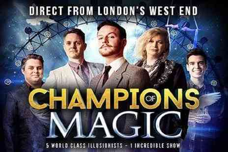 Champions of Magic - Ticket to Champions of Magic on 2 April to 2 May - Save 30%