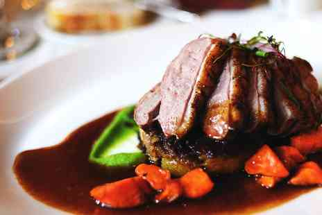 Bishopsgate House - A 3 course Dinner for Two - Save 44%