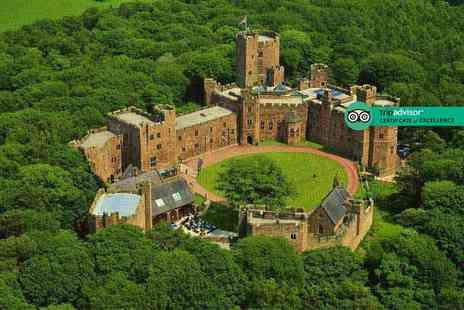 Peckforton Castle - Spa day for one including two 25 minute treatments and a glass of Prosecco - Save 29%