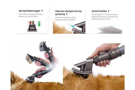 Hua Yuan International Trading - Grooming pet vacuum tool - Save 64%