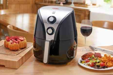 Groupon Goods Global GmbH - Cooks Professional Four Litre Air Fryer With Free Delivery - Save 63%
