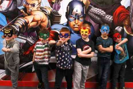 Wee Heroes - Superhero Laser Tag Session for One or Two - Save 40%