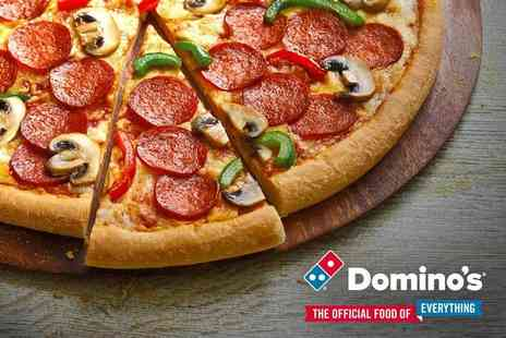 Dominos Pizza - Any size pizza from Dominos choose delivery or collection - Save 74%