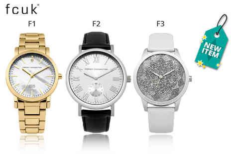 Deals Direct - Ladies French Connection watch from Deals Direct choose from three designs - Save 58%