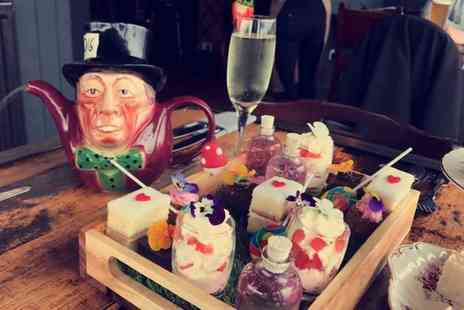 How Do You Do - Mad Hatters Afternoon Tea for two people with a glass of Prosecco and a cocktail each - Save 67%