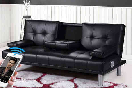 IT Ideas - Manhattan sofa bed or Bluetooth sofa bed - Save 69%