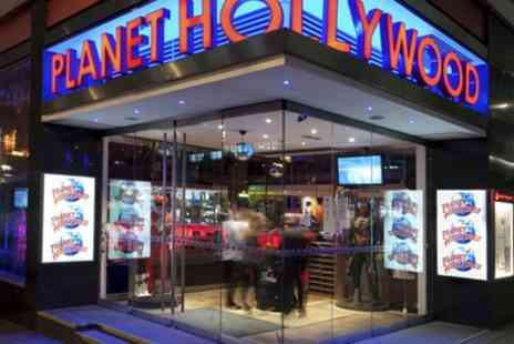 Planet Hollywood - Choice of Three or Six Cocktails - Save 44%