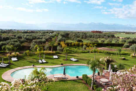 Riad Al Mendili Kasbah Private Resort & Spa - Authentically Designed Riad Overlooking Atlas Mountains for two - Save 55%
