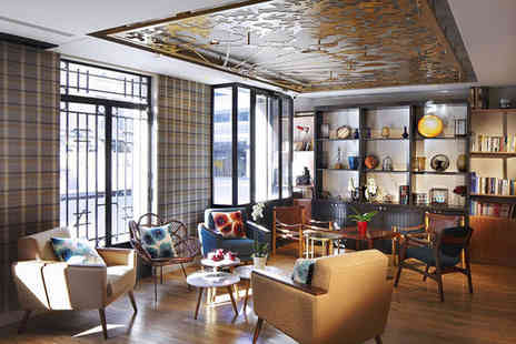 Hotel Comète - Three Star Chic Design in Paris Cool Northeast Quarter for two - Save 66%