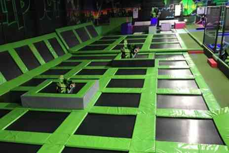 Flip Out Preston - Trampoline Jumping Session for One, Two or Four - Save 33%
