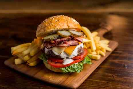 The Dumb Bell - Burger and Drink for Two or Four - Save 52%