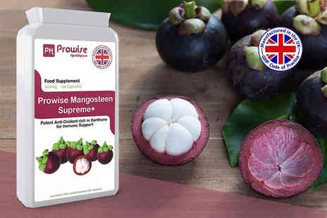 Prowise Healthcare - Two month supply of prowise mangosteen supreme plus capsules - Save 74%