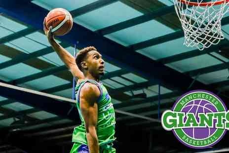 Manchester Giants - Choice of Fixture on 30 March to 29 April - Save 44%