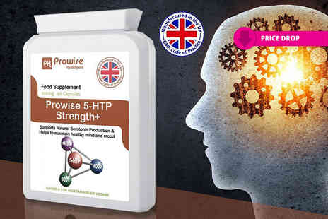 Prowise Healthcare - Three month supply of prowise 5 htp serotonin supplement capsules - Save 70%