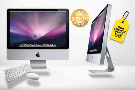 Affordable Mac - Refurbished 500GB Apple iMac Core 2 Duo with non Apple keyboard and mouse - Save 57%