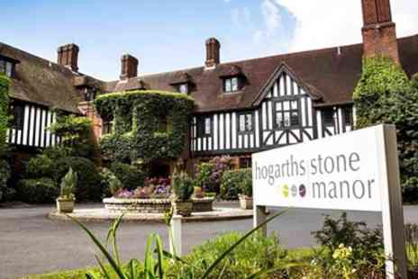 Hogarths Stone Manor Hotel - Worcestershire manor stay with bubbly - Save 0%