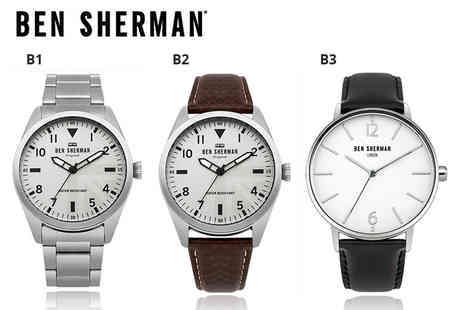 Deals Direct - Ben Sherman mens watch choose from five designs - Save 59%