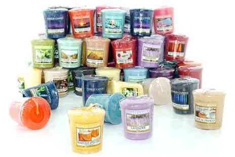 Groupon Goods Global GmbH - Yankee Candle 12 Assorted Votives - Save 50%