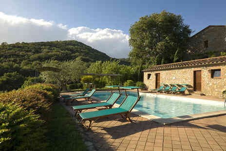 Villa Monte Solare - Four Star Chic Countryside Spa Resort Stay For Two - Save 58%
