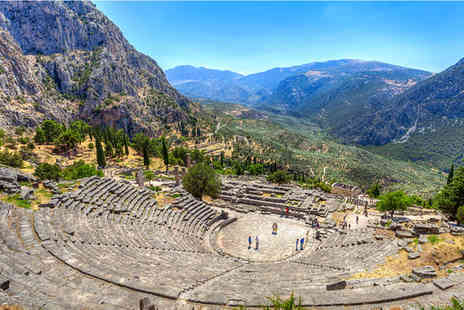 Fly Drive - Inspiring Scenery & Monumental Ruins of Classical Greece - Save 43%