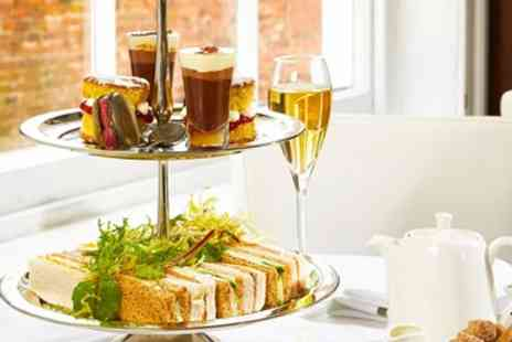 The Lace Market - Afternoon tea for 2 with bubbly - Save 44%