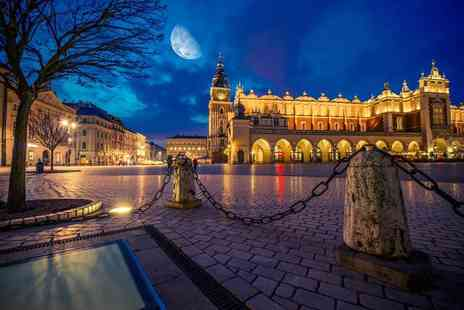 Crystal Travel - Two or three night Krakow, Poland stay with breakfast, flights and Auschwitz tour option - Save 51%