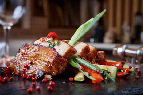Hope Street Restaurant - Two course dining for two with a tea or coffee each - Save 37%