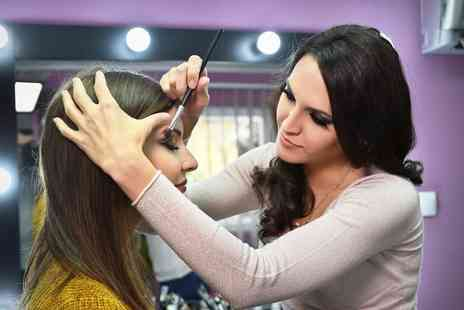 Decadence Hair and Makeup - Three hour makeup masterclass - Save 68%